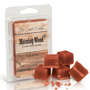 The Candle Daddy Accents - 5 pack -Morning Wood - Cedarwood Vanilla Melts